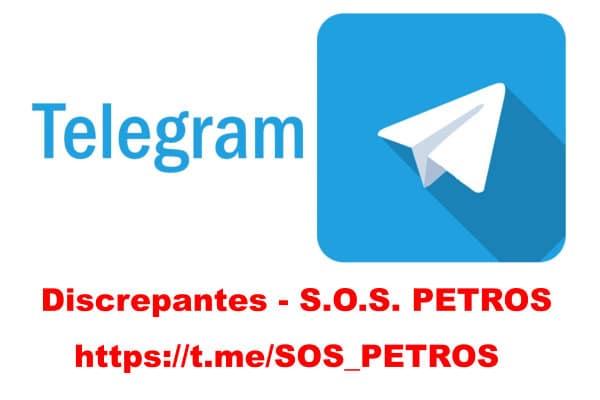 Participe de nosso grupo no Telegram para discussão e mensagens urgentes